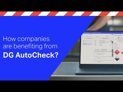 Are you spending too much time on dangerous goods acceptance checks?