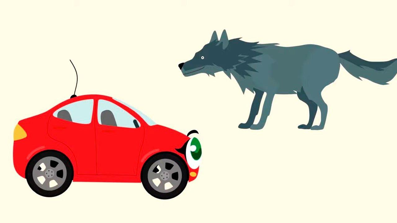 🚙 БИБИКА - Развивающий мультфильм про животных для малышей!
