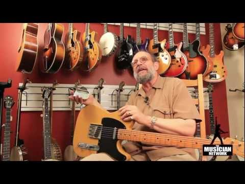 1950 Fender Broadcaster - THE GEORGE GRUHN ® GUITAR SHOW - TMNtv