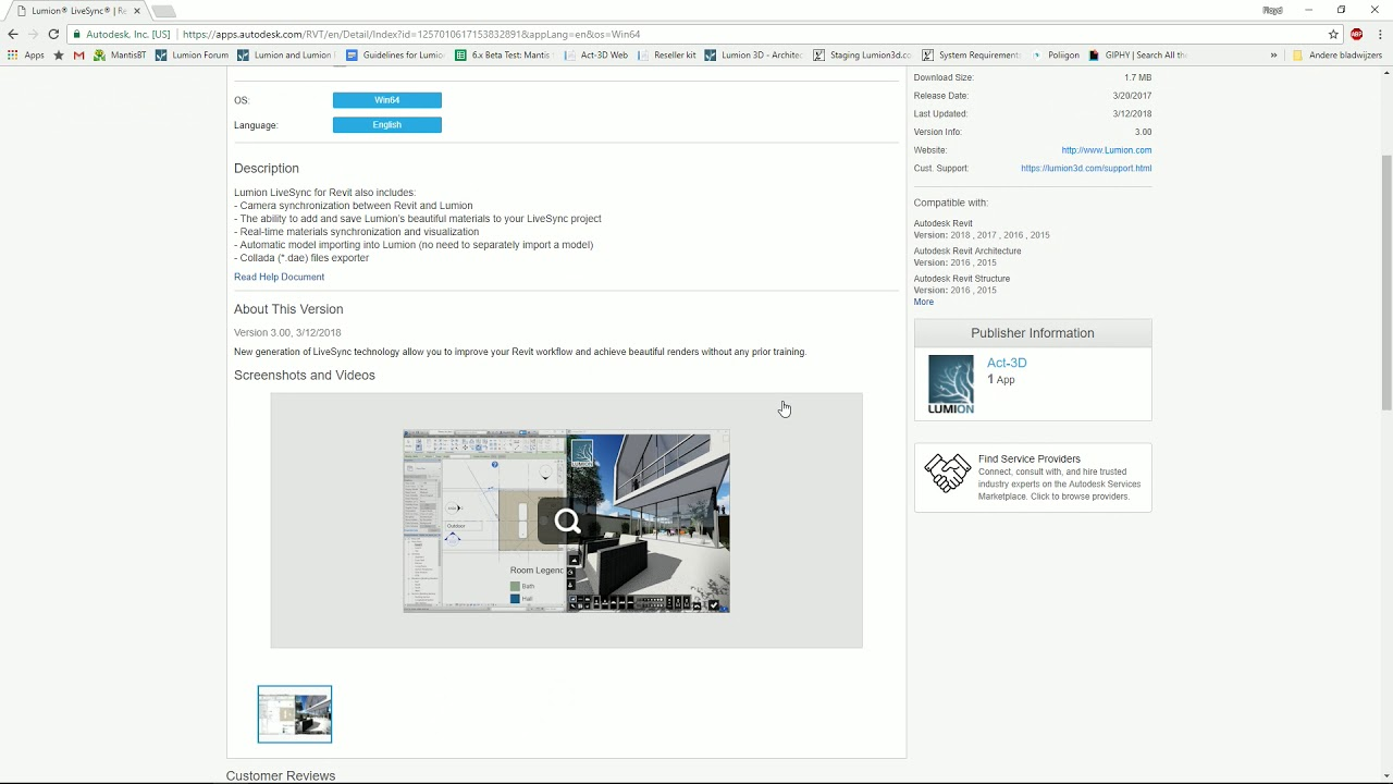 Download Lumion LiveSync for Revit – Lumion