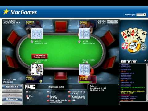 StarGames Poker sesja 1/2zł blindy PART 1
