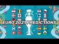 MY EURO 2021 PREDICTIONS! *CRAZY UPSETS