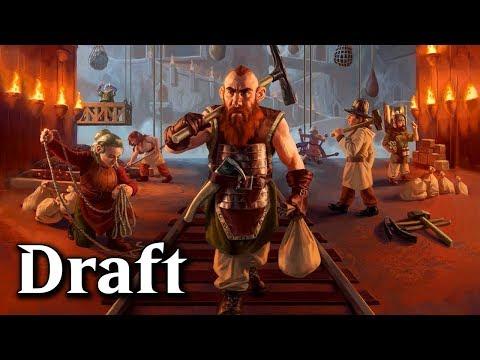 MTG Arena - Throne Of Eldraine Ranked Draft #4