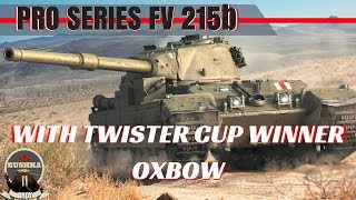 Masterclass Collection Ep 2 FV215b Driving with Oxbow World of Tanks Blitz