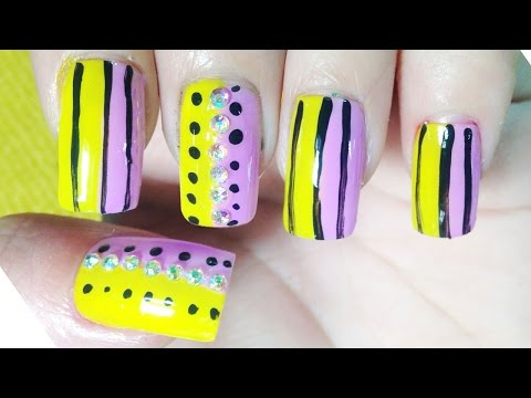 Cute Nail Art Designs – Simple Paint Ideas – Nails Polish Compilation – Chamroeun Part #95