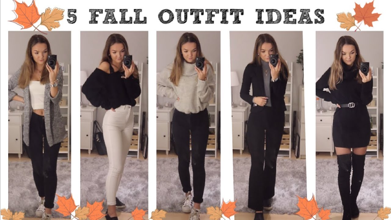 [VIDEO] - 5 FALL OUTFIT IDEAS 2