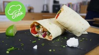 Meine Lieblings Gemüse Wraps   vegetarisch   Veggie Wednesday #22   gesundes Rezept