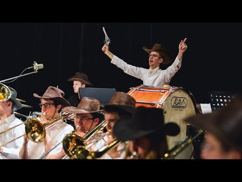 The Magnificent Seven Theme | Police Symphony Orchestra (Elmer Bernstein)