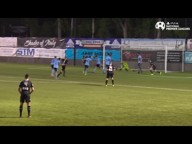 Round 5 - Sydney FC vs Blacktown City - PS4 NPL NSW Men's