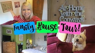 FAMILY HOUSE TOUR!