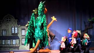 人形劇団プーク春の子どもの公演。 好評の「怪じゅうが町にやってきた」! 2016年3月24日(木)よりいよいよ開幕です!