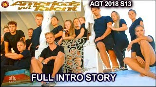 Zurcaroh Members Different Professions FULL INTRO STORY America's Got Talent 2018 Semifinals 1 AGT