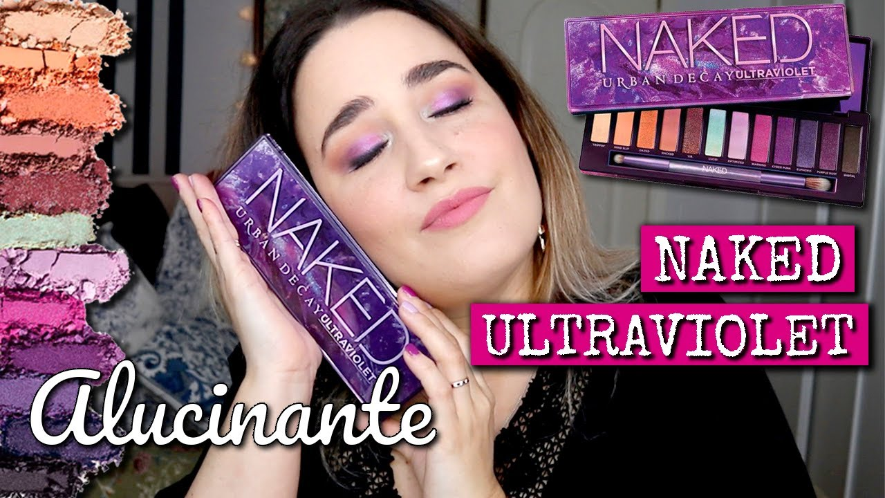 NAKED ULTRAVIOLET de Urban Decay - Review, swatches y look completo