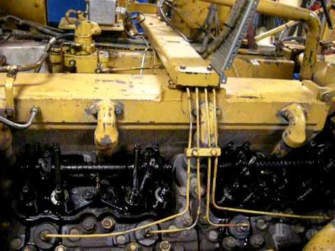 Caterpillar c16 engine valve lash