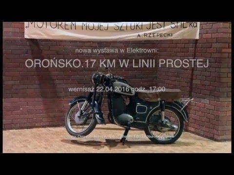 Orońsko. 17 km w linii prostej - spot reklamujący wystawę