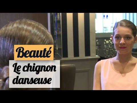 Le chignon danseuse avec filet - Tuto coiffure - YouTube