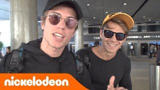 Benji & Fede @ Los Angeles | Ep. 1: La partenza | Nickelodeon