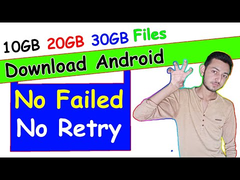 Big File Download Apps In Android || No Download Failed, No Retrying || Best Download Manager App