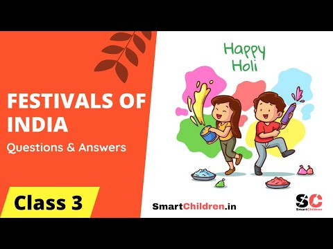 Festivals of India Class 3 - 40 Solved Questions