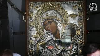 Воздушный крестный ход с иконой Божией Матери «Отрада и Утешение» 07042020