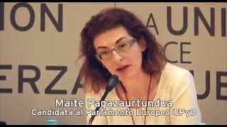 """Maite Pagaza: """"Con fondos limitados es como en casa, hay que ver qué es importante"""""""