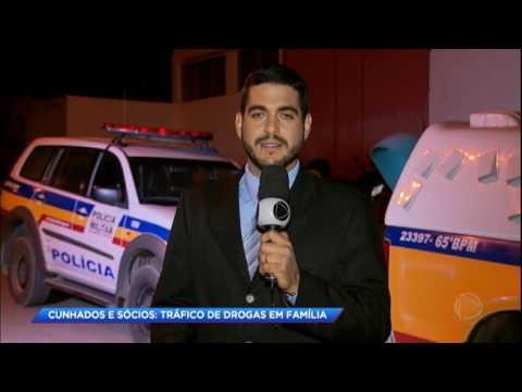 Polícia prende família de traficantes em Minas Gerais