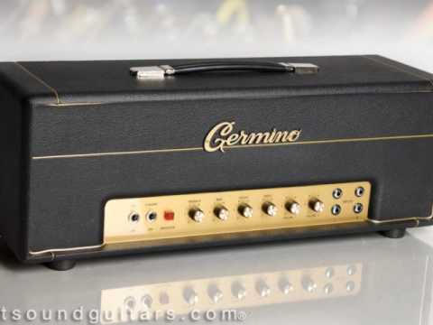 Germino Lead55LV + Fulltone OCD (at 1:00 mark) - Black Crowes licks/riffs