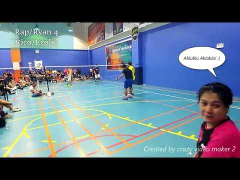 Badminton Finals  Jeddah Masters Premier Champ MD  9 13 2019 [Raprap/Ryan VS Rico/Ecol] 1st Set