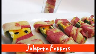 Jalapeno Poppers Recipe/ Halloween Mummy Jalapeno Poppers/ Party Appetizer – By Let's Be Foodie