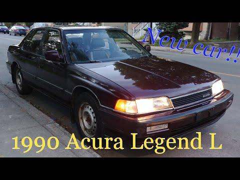 New car! 1990 Acura Legend L V6!!