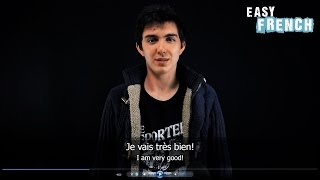 10 Sentences for greeting someone you dont know - French Basic Phrases