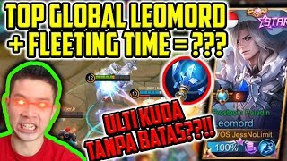 Gambar cover LEOMORD + FLEETING TIME = KUDANYA GAK ABIS2??! META BARU!!