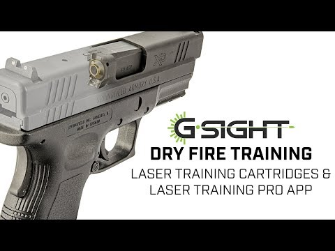 Laser Training Cartridges and Laser Training Pro App | G-Sight Solutions