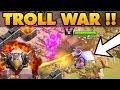 Clash Of Clans TOWN HALL 11 TROLL WAR TH11 vs TH11 Noah s Ark Raid This Is Insane