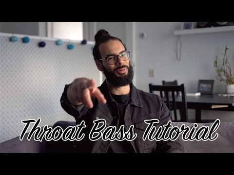 Throat Bass TUTORIAL - How to Beatbox