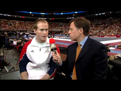 Paul Hamm Interview - 2008 Olympic Trials - Day 2 - Men