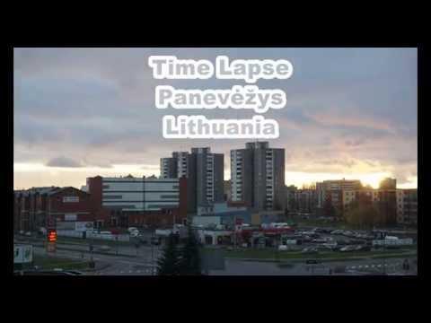 Time Lapse Panevėžys Lithuania