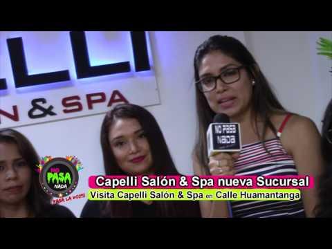 CAPELLI SALÓN Y SPA NUEVA SUCURSAL JAÉN PERÚ  NO PASA NADA