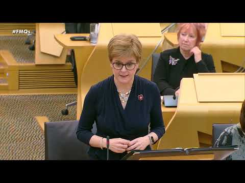 First Minister's Questions - 31 October 2019