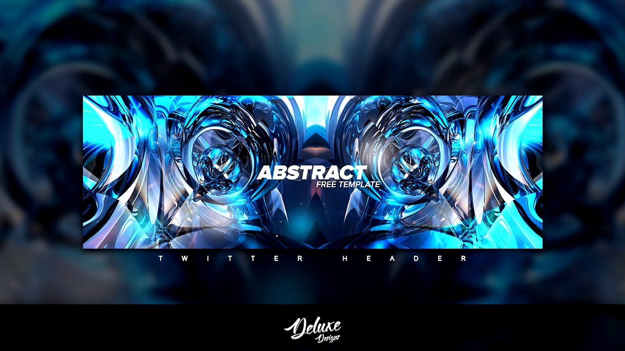 Free Gfx Clean Abstract Symmetrical Header Template Psd