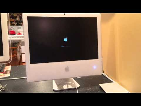 OSX Yosemite Booting On IMac G5