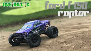 Fresh Pro-Line Racing 2017 Ford F-150 Raptor Body on the Stampede 4x4 | Edit | Overkill RC