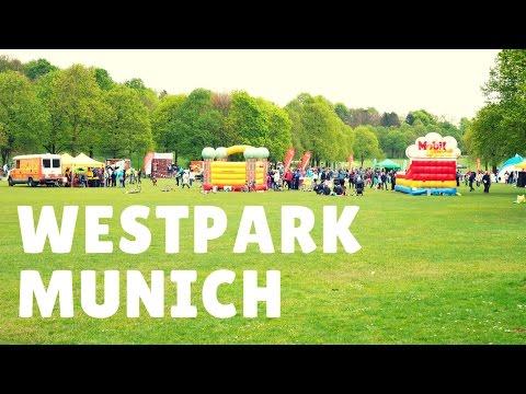 WestPark, Munich - Travel Germany [4K]