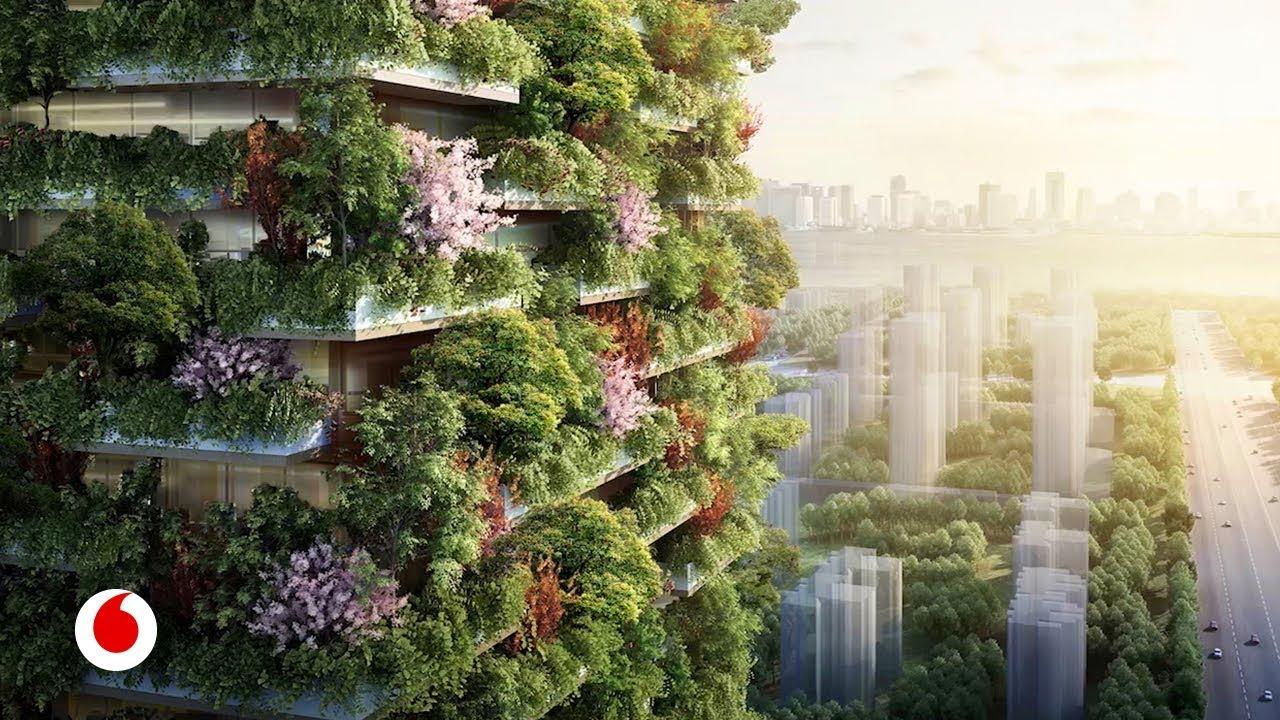 Bosques que crecen en edificios a 100 metros de altura