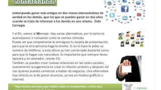 Capacitación Equipo E FGXpress, Contactar e Invitar por Fabian Benitez