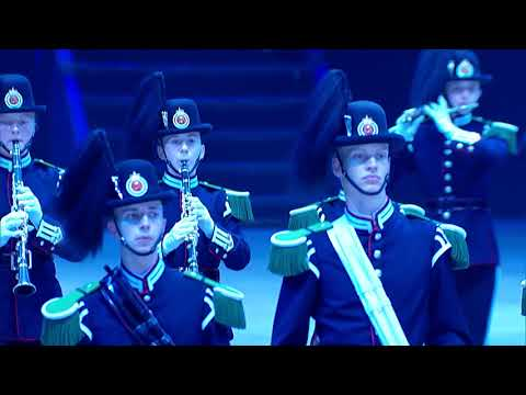 2018 Virginia International Tattoo - His Majesty the King's Guard Band and Drill Team, Norway