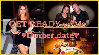GET READY WITH ME (ANNIVERSARY DINNER ) Thumbnail