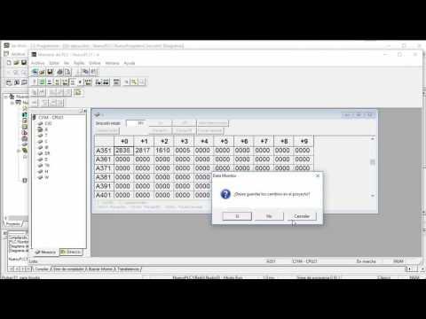 Omron CJ / CP1: Reloj RTC e instrucciones de comparación de tiempo