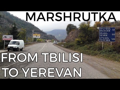 How to get from Tbilisi to Yerevan by marshrutka - Epic road