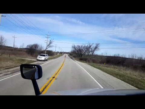 Bigrigtravels Live! - Hanover Park to Hampshire, Illinois - US Highway 20 - April 6, 2017